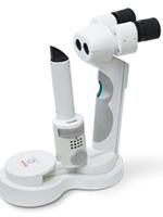 ポータブル際隙灯顕微鏡