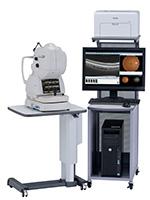 網膜光干渉断層計(Trion ss-OCT)眼底カメラ・蛍光眼底造影カメラ