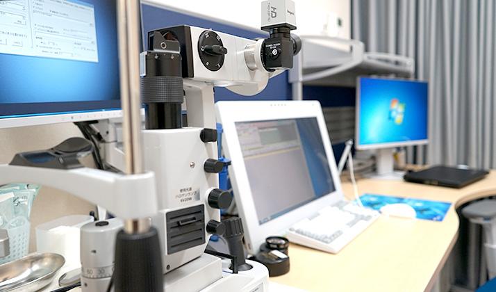 診察室①顕微鏡